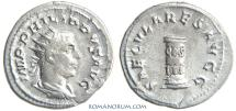 Ancient Coins - PHILIP I, The Arab. (AD 244-249 AD) Antoninianus, 4.00g.  Rome. SAECVLARES AVGG