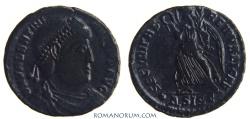 Ancient Coins - VALENTINIAN I. (AD 364-375) AE3, 2.34g.  Siscia. SECVRITAS REIPVBLICAE