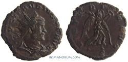 Ancient Coins - CLAUDIUS II, Gothicus. (AD 268-270) Antoninianus, 3.24g.  Milan. VICTORIA AVG