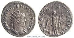 Ancient Coins - GALLIENUS. (AD 253-268) Antoninianus, 2.71g.  Rome. PROVIDENTIA AVGG