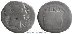 Ancient Coins - L SCRIBONIUS LIBO. Denarius, 3.19g.  Rome.
