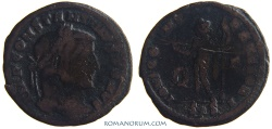 Ancient Coins - CONSTANTINE I, The Great. (AD 306-337) Follis, 4.35g.  Siscia. IOVI CONSERVATORI RIC var., with no captive.