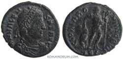 Ancient Coins - VALENS. (AD 364-378) AE3, 2.90g.  Thessalonica. GLORIA ROMANORVM