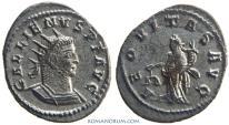 Ancient Coins - GALLIENUS. (AD 253-268) Antoninianus, 3.96g.  Antioch. AEQVITAS AVG