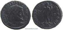 Ancient Coins - GALERIUS. (AD 293-311) Follis, 7.93g.  Thessalonica.