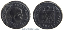 Ancient Coins - CONSTANTIUS II. (AD 337-361) AE 3, 3.34g.  Thessalonica. PROVIDENTIAE CAESS