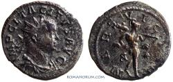 Ancient Coins - TACITUS. (AD 275-276) Antoninianus, 3.66g.  Lugdunum. Metal high points, with silvering remnants.
