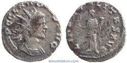 Ancient Coins - CLAUDIUS II, Gothicus. (AD 268-270) Antoninianus, 2.87g.  Rome. LIBERALITAS AVG