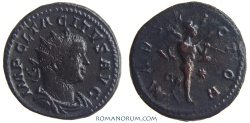 Ancient Coins - TACITUS. (AD 275-276) Antoninianus, 4.52g.  Rome. MARS VICTOR