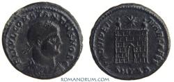 Ancient Coins - CONSTANTIUS II. (AD 337-361) AE 3, 3.34g.  Thessalonica. PROVIDENTIAE CAESS