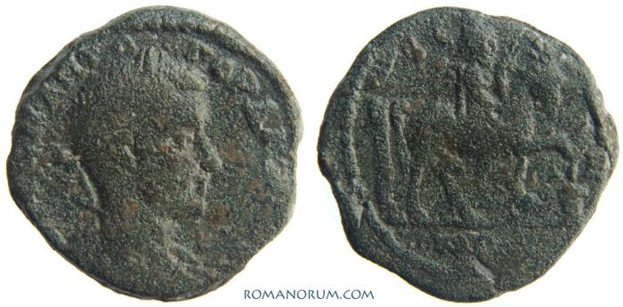 Ancient Coins - GORDIAN III. (AD 238-244) AE26, 12.32g.  Istros, Moesia Inferior. Rare. Featured in wildwinds.com