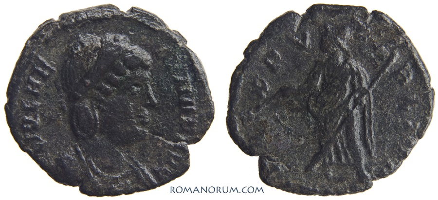 Ancient Coins - HELENA. (Mother of Constantine the Great.) AE3, 1.80g.  Uncertain mint.