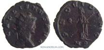Ancient Coins - GALLIENUS. (AD 253-268) Antoninianus, 3.51g.  Mediolanum. PROVID AVG Nice brown-reddish patina.