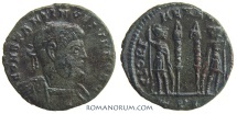 Ancient Coins - CONSTANTINE II. (AD 337-340) AE3, 1.99g.  Lyon.