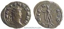 Ancient Coins - GALLIENUS. (AD 253-268) Antoninianus, 3.26g.  Mediolanum. ORIENS AVG