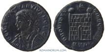 Ancient Coins - CONSTANTIUS II. (AD 337-361) AE3, 2.48g.  Trier. PROVIDENTIAE CAESS