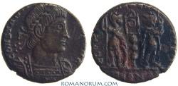 Ancient Coins - CONSTANTINE II. (AD 337-340) AE3, 1.99g.  Arles. GLORIA EXERCITVS