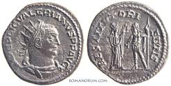 Ancient Coins - VALERIAN. (AD 253-260) Antoninianus, 3.62g.  Samosata.