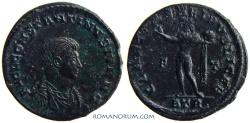 Ancient Coins - CONSTANTINE II. (AD 337-340) AE3, 3.19g.  Trier. CLARITAS REIPVBLICAE Small bust.