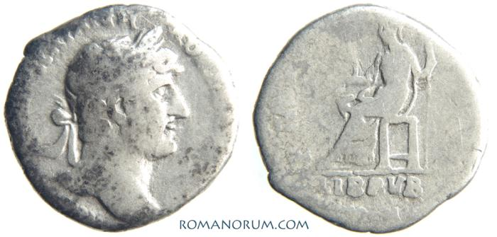 Ancient Coins - HADRIAN. (AD 117-138) Denarius, 2.87g.  Rome. Libertas.