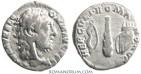 Ancient Coins - COMMODUS. (AD 180-192) Denarius, 2.61g.  Rome. HERCVLI ROMANO