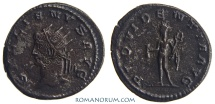 Ancient Coins - GALLIENUS. (AD 253-268) Antoninianus, 3.51g.  Antioch. Rare. Featured in wildwinds.com