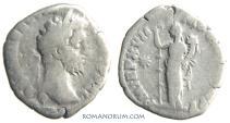 Ancient Coins - COMMODUS. (AD 180-192) Denarius, 2.44g.  Rome. Fides. Modest denarius, yet still nice.