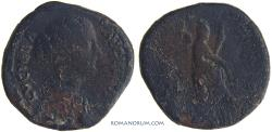 Ancient Coins - LUCILLA. (Sister of Commodus, wife of Lucius Verus) Sestertius, 27.12g.  Rome. Ceres.