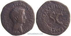 Ancient Coins - AUGUSTUS. (44 BC - AD 14) As, 9.69g.  Rome.