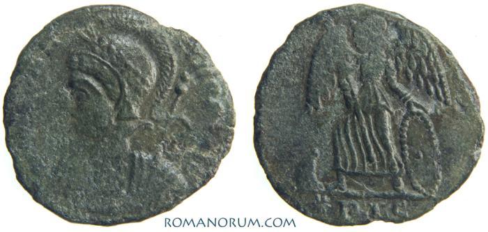 Ancient Coins - CONSTANTINE DYNASTY. AE 3, 1.62g.  Lugdunum. Rarer mint-mark.