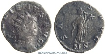 Ancient Coins - GALLIENUS. (AD 253-268 ) Antoninianus, 2.73g.  Mediolanum. SALVS AVG Scarcer mintmark