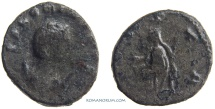 Ancient Coins - SALONINA. (Wife of Gallienus) Antoninianus, 3.85g.  Cologne. VESTA