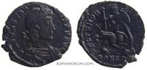 Ancient Coins - CONSTANTIUS II. (AD 337-61) AE3, 2.68g.  Constantinopla. Beautiful black patina