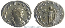 Ancient Coins - GALLIENUS. (AD 253-268) Antoninianus, 2.98g.  Rome. VICTORIA AVG Scarce bust type