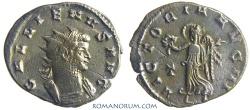 Ancient Coins - GALLIENUS. (AD 253-268) Antoninianus, 2.98g.  Rome. VICTORIA AVG Scarce bust type