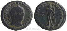 Ancient Coins - CONSTANTIUS I CHLORUS. (AD 293-306) Follis, 9.46g.  Cyzicus.