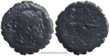 Ancient Coins - MACEDONIA, Under PHILIP V AND PERSEUS. (187-131 BC) Serrated AE22, 9.32g.  Macedonia, Thessalonica.