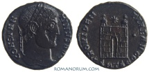 Ancient Coins - CONSTANTINE I, The Great. (AD 306-337) AE3, 2.88g.  Thessalonica. PROVIDENTIAE AVGG