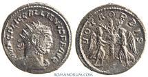 Ancient Coins - GALLIENUS. (AD 253-268) Antoninianus, 3.56g.  Samosata. VOTA ORBIS.  Scarce.