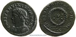 Ancient Coins - CONSTANTINE II. (AD 337-340) AE 3, 2.78g.  Lugdunum. Rarer issue with dots around X