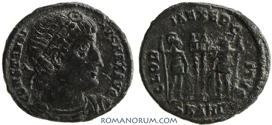 Ancient Coins - CONSTANTINE I, The Great . (AD 306-337) AE3, 2.39g.  Antioch.