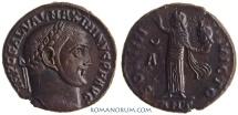 Ancient Coins - MAXIMINUS II Daza. (AD 308-313 ) Follis, 6.44g.  Antioch. SOLI [sic] Ex. CNG X, 1990.