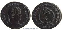 Ancient Coins - CONSTANTINE II. (AD 337-340) AE 3, 2.84g.  Trier. CAESARVM NOSTRORVM