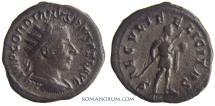 Ancient Coins - GORDIAN III. (AD 238-244) Antoninianus, 5.66g.  Antioch. SAECVLI FELICITAS Very heavy antoninianus.