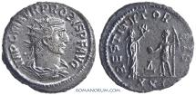 Ancient Coins - PROBUS. (AD 276-282) Antoninianus, 4.31g.  Antioch.