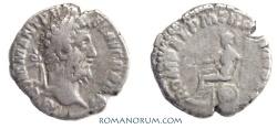 Ancient Coins - COMMODUS. (AD 180-192 ) Denarius, 2.83g.  Rome.