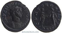 Ancient Coins - PROBUS. (AD 276-282) Antoninianus, 3.87g.  Ticinum. CONCORD MILIT