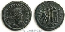 Ancient Coins - CONSTANTIUS II. (337-361 AD) AE3, GLORIA EXERCITVS 2.34g. Cyzicus.