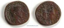 Ancient Coins - MARCUS AURELIUS.(161-180 AD)Sestertius,CONCORDIA AVGVSTOR 29.45g.Rome.