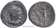 Ancient Coins - VALERIAN. (AD 253-260) Antoninianus, 3.74g.  Antioch. Restorer of the Human Race. Scarce.